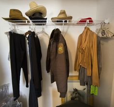 Longmire Wardrobe On Set