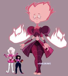 Pink Diamond Steven Universe, Best Fan, Gems, Cartoon, Future, Future Tense, Rhinestones, Jewels, Gemstones