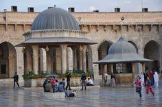 The Great Mosque of Aleppo (Arabic: جامع حلب الكبير 2010