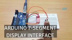 In this project, we will learn about 7 Segment Displays and see how the Arduino 7 Segment Display Interface works. 7 Segment Display or Seven Segment Display is one of the simplest display devices that can be connected to Arduino or any microcontroller. There are several display devices like alphanumeric LCD, graphical LCD, touchscreen etc. …