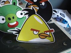 Display de mesa - Angry Birds Angry Birds, Personalized Stationery, Mesas