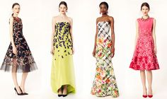 Garden Party Redux: Oscar de la Renta Resort 2014