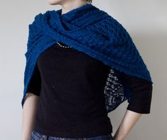 How to Wear a Shawl- A cool blog post about different ways to wear shawls.