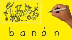 Hogyan készítsünk szavakból rajzot - BANÁN Arabic Calligraphy, Arabic Calligraphy Art