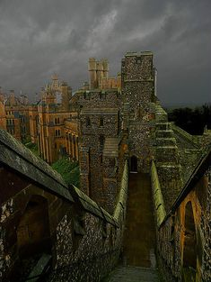 Arundel Castle- There are nearly 1,000 years of history at this great castle, overlooking the River Arun in West Sussex and built at the end of the 11th century by Roger de Montgomery, Earl of Arundel.  The oldest feature is the motte, an artificial mound, over 100 feet high from the dry moat, and constructed in 1068: followed by the gatehouse in 1070. Under his will, King Henry I (1068-1135) settled the Castle and lands in dower on his second wife, Adeliza of Louvain.