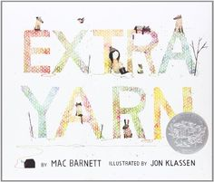 Extra Yarn by Mac Barnett http://www.amazon.com/dp/0061953385/ref=cm_sw_r_pi_dp_cxFMtb1MJFXP2JPH