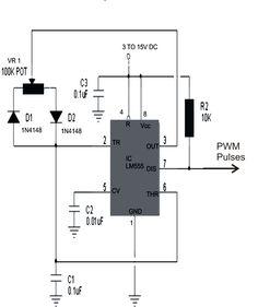 Inversor de voltaje de 100 watts con 555 y Mosfets Electrnica