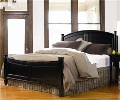 Panel Bed Furniture And Beds On Pinterest