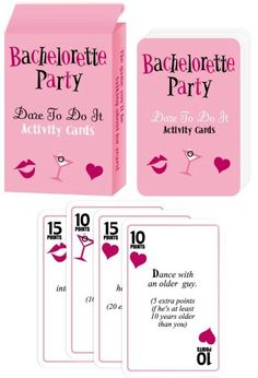 bachelorette party games | Sweet and Sour Showers: Bachelorette Party Games