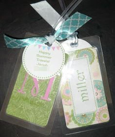 Room Mom Extraordinaire: End of the Year Gifts for Other Teachers LUGGAGE TAGS