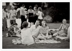 Find/bring some big picnic blankets/quilts for the rehearsal day picnic, for enough outdoor seating.