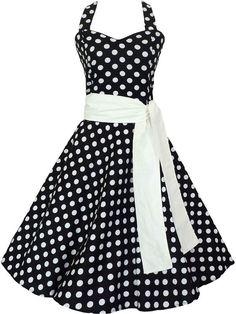 nova moda feminina 2014 50s 60s swing bolinhas vestido vintage rockabilly pinup retro frete grátis US $32.37
