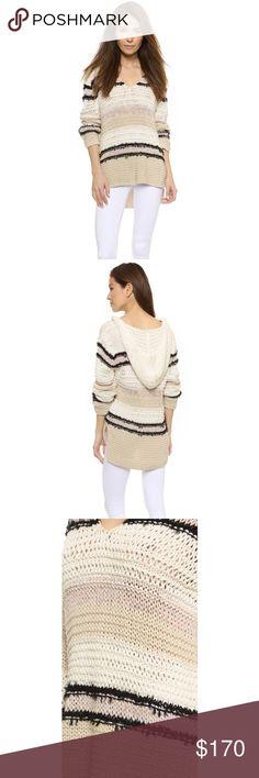 NWOT Rag and Bone Lulu Beach Hoodie Color: whitecap. Cotton, linen and polyamide. Brand new, never worn!!! rag & bone Sweaters