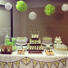 Baby shower for twins.