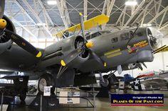 "B-17G ""Short Bier"" at the Hill Aerospace Museum in Ogden, Utah."