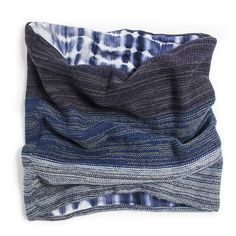 REVERSIBLE FUNNEL | MUK LUKS® Indigo Accessories