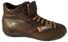 Italian ankle shoes for men - Made in Italy shoes by Frau - Online shoe store