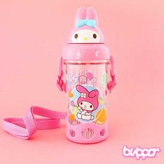 Buy My Melody Bottle With Straw | Free Shipping | Blippo Kawaii Shop