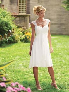 Informal Wedding Dresses For Older Brides | casual wedding dresses posted on may 26 2013 under dress wedding ...