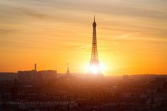 Sunny Eiffel Tower, Paris