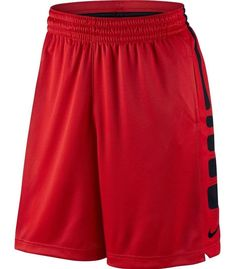 5f36b860fcf MEN'S NIKE ELITE DRI-FIT BASKETBALL SHORTS RED 718378 657 NWT XL   eBay