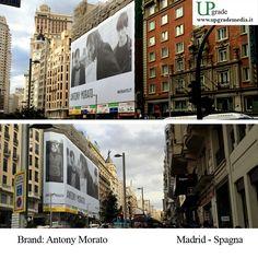 Antony Morato #antonymorato #abbigliamento #international #spagna #madrid #adv #advertising #media 