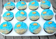 make a beach with cupcakes - Bing Images