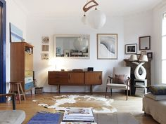 Every room needs a good sized cowhide