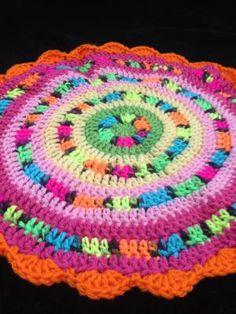 Neon Crochet Mandala - Karen / Kathryn Vercillo
