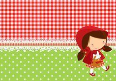 Convite Festa Personalizados Chapeuzinho Vermelho