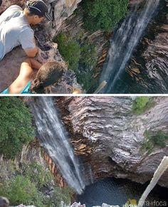 Cachoeira do Buracão vista de cima