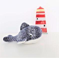 Little Blue Whale **crochet pattern only** by KrigsCrochet on Etsy
