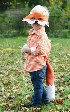 DIY Fox Costume @Ashleigh {bee in our bonnet} Riley