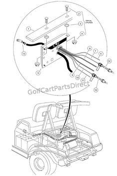 1997 Club Car Gas DS or Electric - Club Car parts & accessories Golf Cart Repair, Gas Golf Carts, Electric Golf Cart, Car Parts And Accessories, 3rd Wheel, Ds, Engine, Club, Dinner