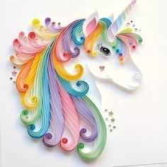 Paper and unicorn image
