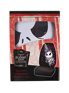 The Nightmare Before Christmas Jack Skellington Bones Car Seat Cover,