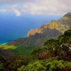 North shore on Kauai