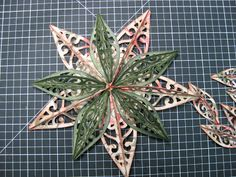 Cricut with Heart: Another Artiste Ornament Star