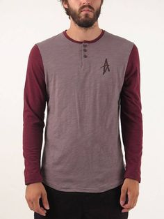Spansive Henley Long Sleeve T-Shirt for men by Altamont