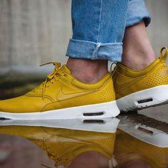 """Der #Nike Wmns Air Max Thea Prm """"Dark Citron""""  ist raus."""