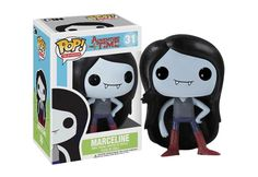Funko are proud to present the latest addition to their ever-expanding Pop! Vinyl collection, Marceline from Adventure Time. The hit Cartoon Network show is making waves across the globe and so will these cool new Adventure Time Pop! Pop Vinyl Figures, Funko Pop Figures, Adventure Time Toys, Adventure Time Marceline, Cartoon Network, Vinyl Toys, Funko Pop Vinyl, Adveture Time, Pop Figurine