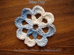 Crochet Flower Free Pattern, thanks so for share xox