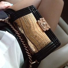 Provocative Woman: Chanel Boy Bag