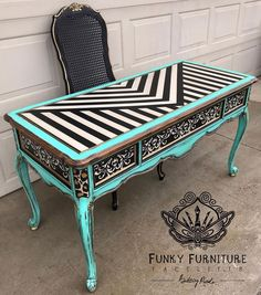 Funky Furniture - Wardrobe, Bed Chest Of Drawers And Locker For Sale Whimsical Painted Furniture, Hand Painted Furniture, Funky Furniture, Paint Furniture, Repurposed Furniture, Unique Furniture, Shabby Chic Furniture, Furniture Makeover, Vintage Furniture