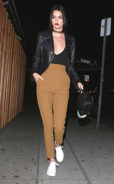 Kendall Jenner Street Style Outfits - Celebrity Street Style Kendall Jenner   Teen Vogue