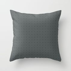 Buy it online. #pillow #cushion, #decor home #decoration, #decorative dark colors, #gray #dotted pattern, black #dots, #elegant, #contemporary #modern design, almohada cojin para decoracion de la sala o recamara, #hamtz