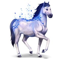 Sapphire, Gemstone horse