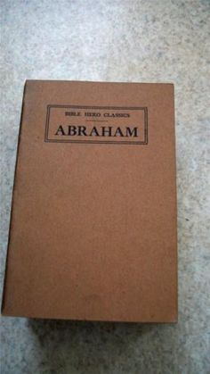 Here we have the complete Bible Hero Classics Series comprised of 20 pamphlets.  Each booklet tells the story of a biblical figure beginning with Abraham and ending with Paul.  These pamphlets date back to 1906 and 1908 and were edited by Sydney Strong and Anna Louise Strong.