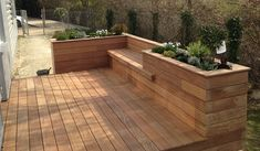 Deck Seating, Fire Pit Seating, Side Yard Landscaping, Landscape And Urbanism, Backyard, Patio, Deck Design, Tropical Garden, Outdoor Gardens