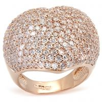 Lila-With all the sparkle and shine emanating from this statement ring, you'll feel like a celebrity. With such a stylish choice, you might even set off a few camera flashes of your own.$110  www.jillzarinjewelry.com